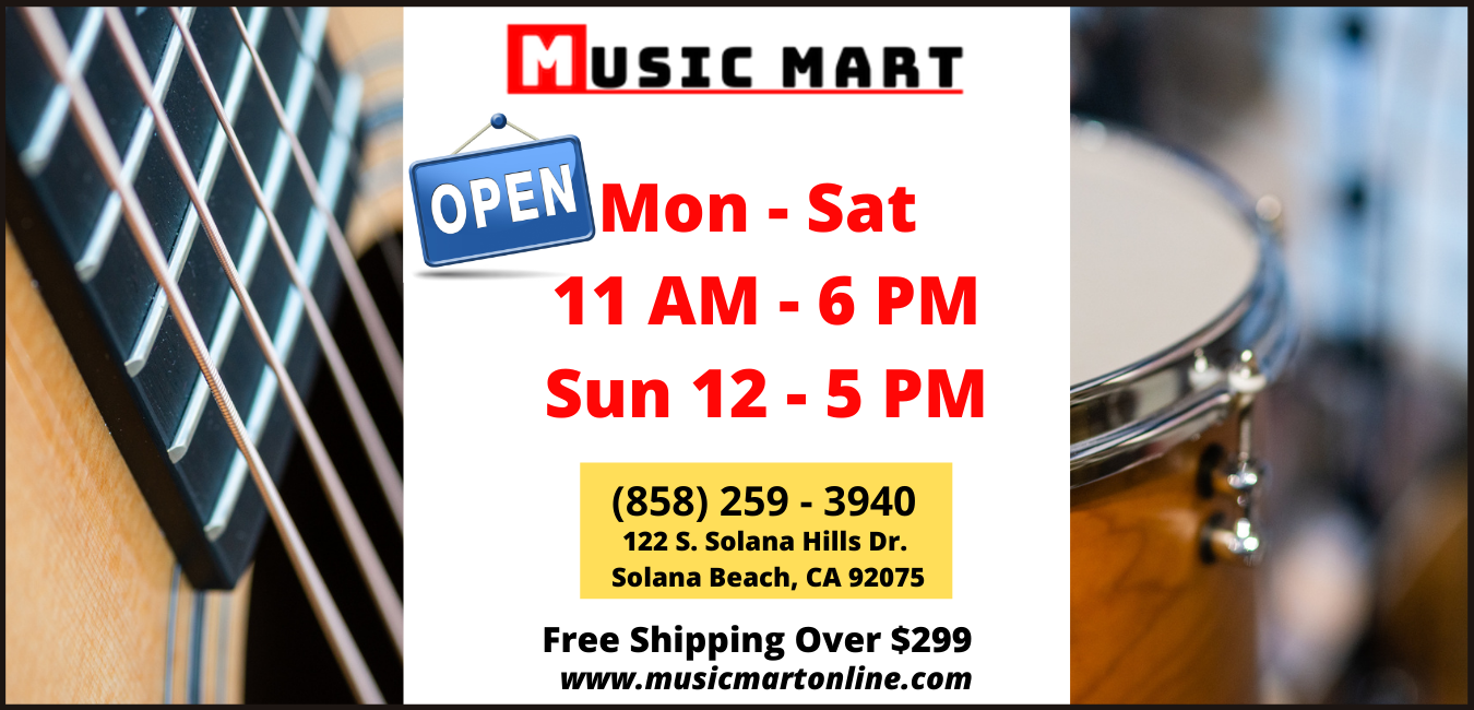 Music Mart Hours