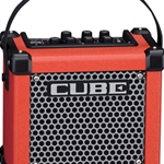 Roland M-CUBE-GXR Battery Powered Guitar Amp w/ COSM, i-Cube Link Effects & 8 Memories (red)
