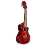 LANIKAI - QUILTED MAPLE RED CUTAWAY ELECTRIC CONCERT