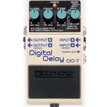 Boss DD-7 Digital Delay w/ Ext. Tap Tempo-Opt. FS-5U, EV-5