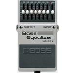 Boss GEB-7 7-Band Graphic Bass Equalizer