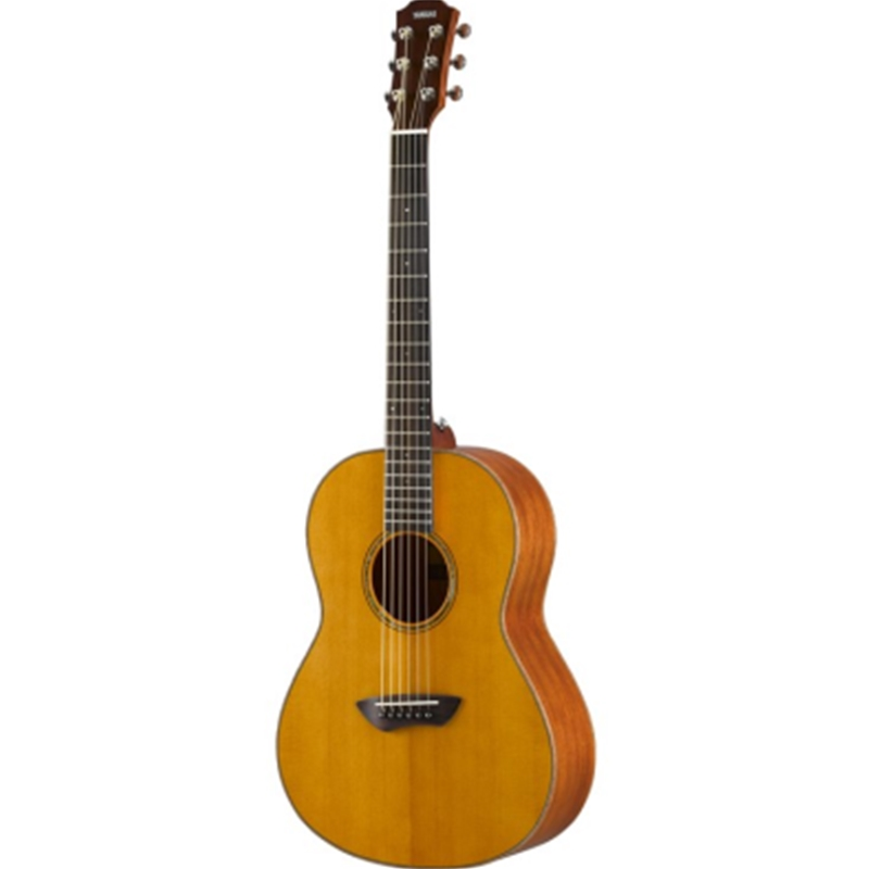 Yamaha CSF3M  Vintage Natural Parlor Guitar, Solid Mahogany Back and Sides, Solid Spruce Top