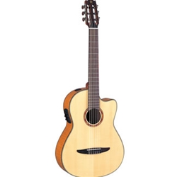 Yamaha NCX900FM Acoustic-Electric Classical Guitar W/ Flamed Maple Top