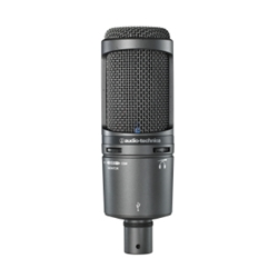 Audio Technica AT2020 USBPLUS Cardioid Condenser USB Microphone